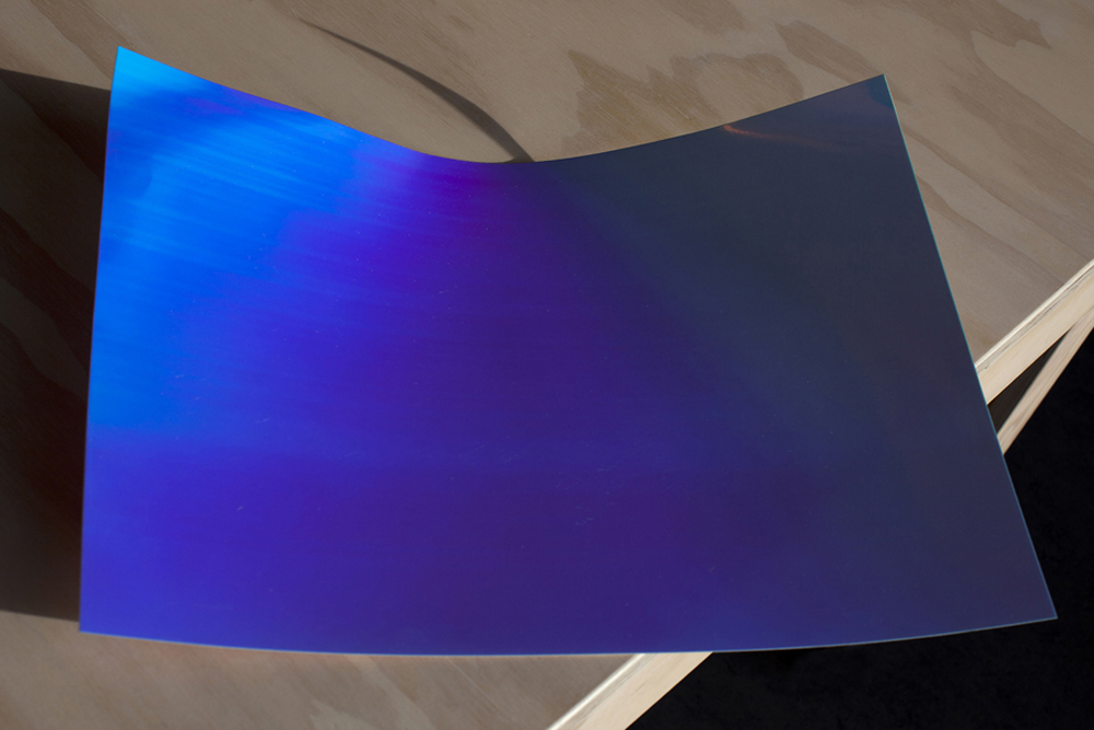 Sheet -  Blue turning Purple, 2013